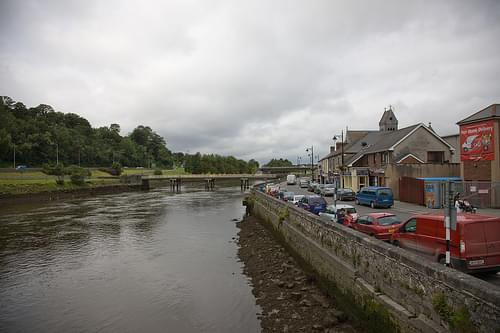 The River Boyne Flows Through Drogheda
