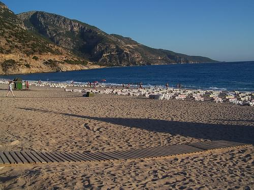 Olu Deniz beach, early morning