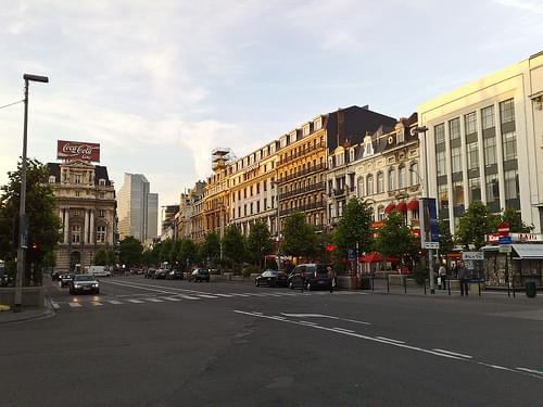 Brouckere Square, Brussels