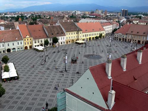 Piata Mare (from the Council Tower)