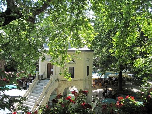 Bursa - Koza Hani, Cour intérieure