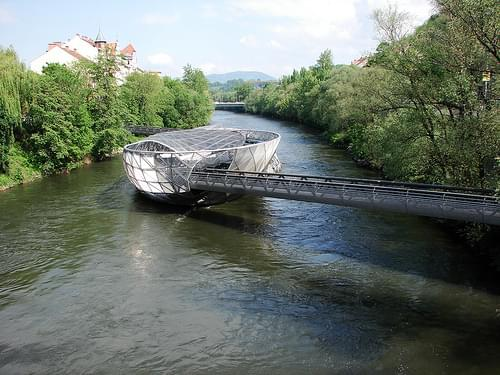 Island in the Mur, Graz