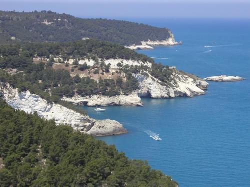 Gargano Coast from Torre Gatterella