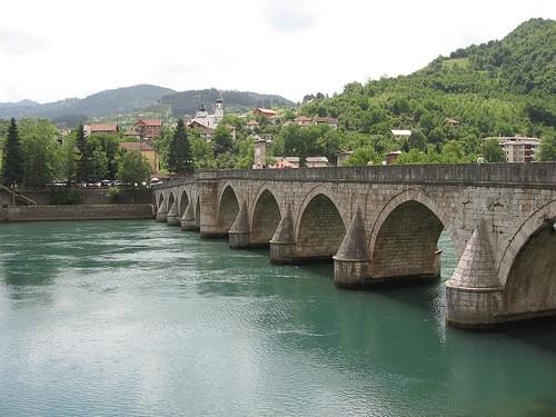 Višegrad bridge, yet again