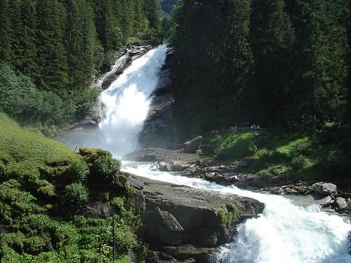 Krimml Waterfalls