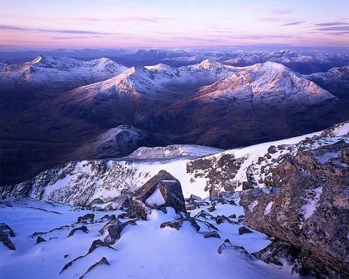 Dawn, Ben Nevis, Scotland