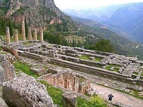 Temple of Apollo, Delphi