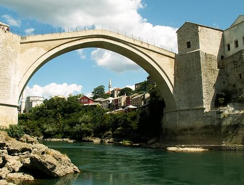 Mostar, Bosnia and Herzegovina - Stari Most (Old Bridge)