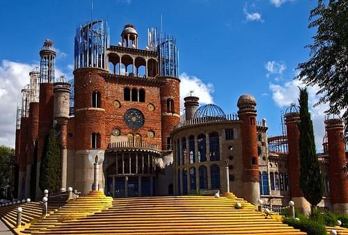 MADRID MEJORADA DEL CAMPO LA CATEDRAL  CONSTRUIDA POR UN SOLO HOMBRE -JUSTO GALLEGO-/THE CATHEDRAL BUILT BY A MAN ONLY 29-5-2011