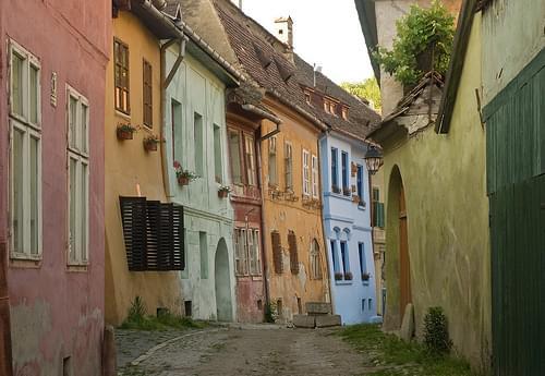 Back street in Sighisoara