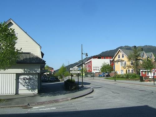 Historic Center, Stryn