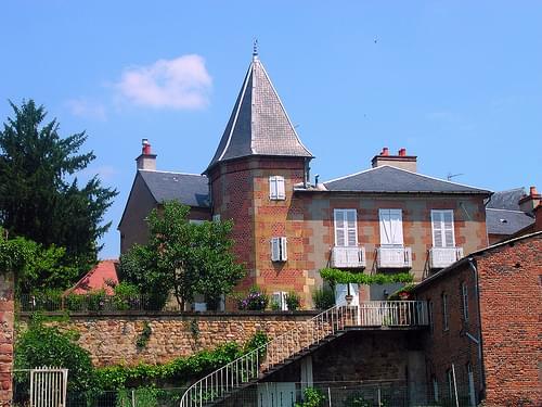 maison Mantin (MOULINS,FR84)