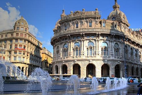 Piazza De Ferrari, Genova 02
