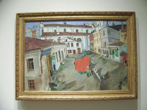 Marc Chagall: The Marketplace, Vitebsk