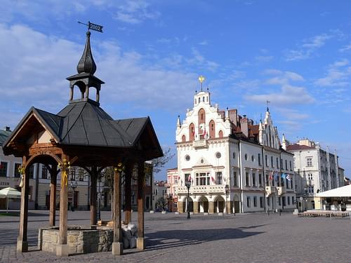 Well on Rzeszow's marketplace