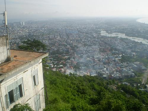 Vung-Tau City (view from the light-house)