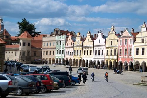Historic Center, Telc