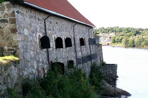 Det grunnmurede provianthus i Gamlebyen, Fredikstad