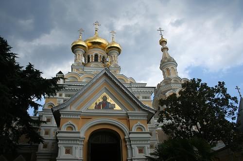 Alexander Nevsky Cathedral, Yalta, Ukraine