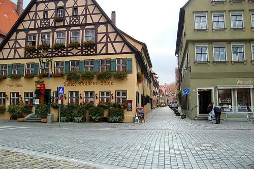 Historic Center, Dinkelsbuehl
