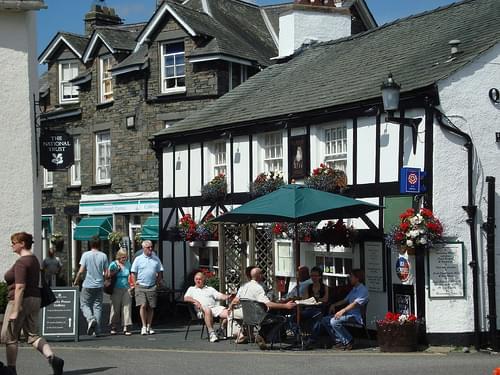 Hawkshead, Cumbria.