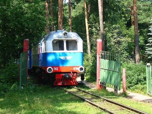 RZD Kratovo children railway TU2-078  2004