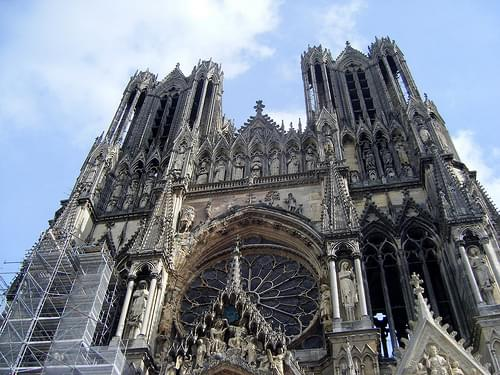 Reims Notre Dame Cathedral