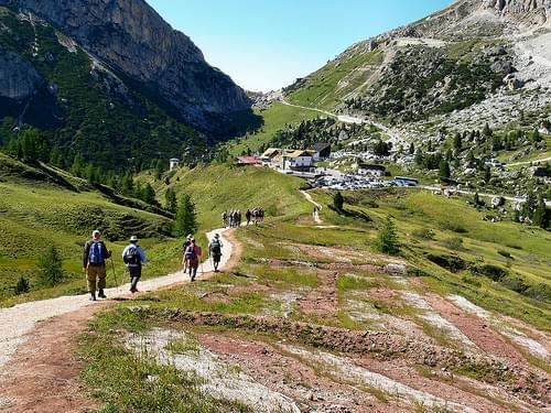 F34 Trail Down from Rifugio Nuvolau 82408