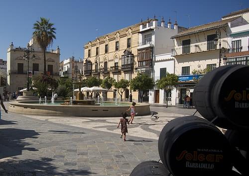 plaza del cabildo de sanlucar de barrameda