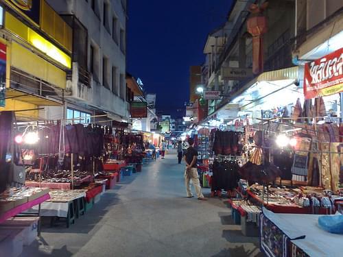 Night Bazaar, Chiang rai, Thailand