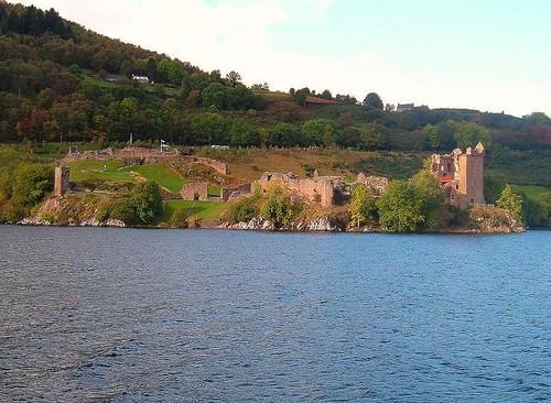 Loch Ness - Urquhart Castle Scotland