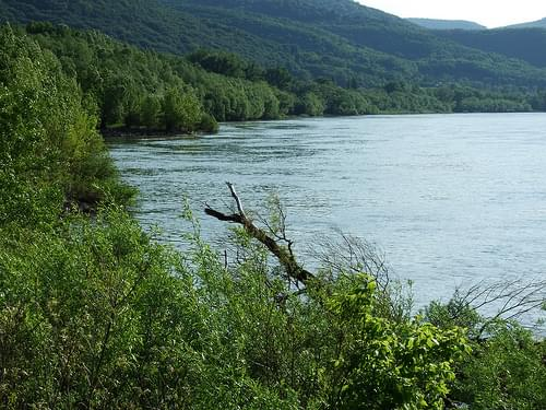 The Danube near Visegrad, Hungary