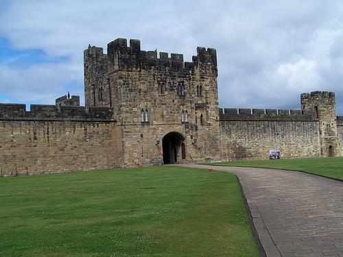 Alnwick Castle barbican