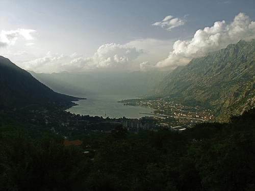 The Gulf of Kotor/Котор/Cattaro