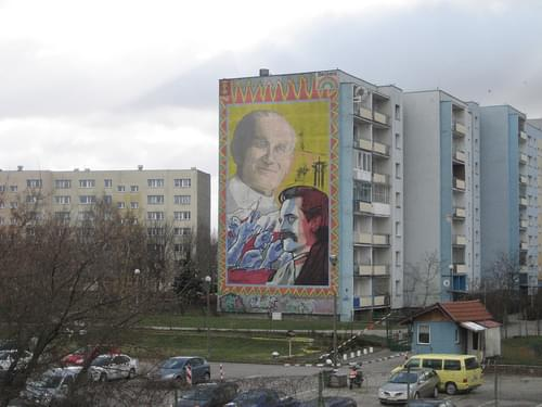 Monumental Paintings in Zaspa, Gdansk