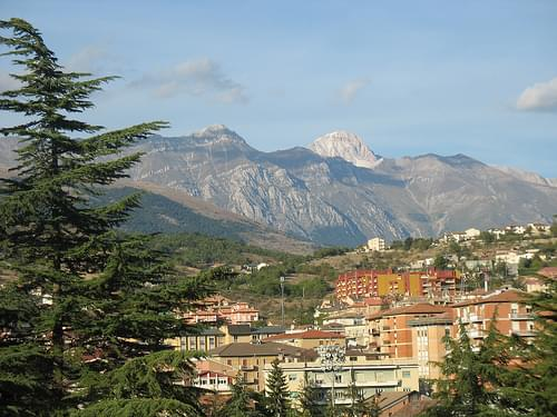 L'aquila: an Italian mountain town