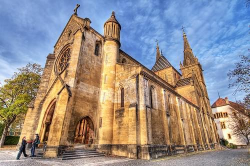 The collegiate church of Neuchâtel