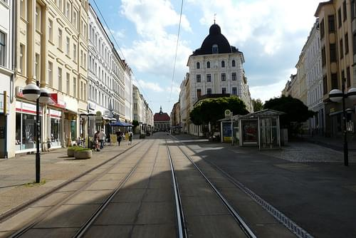 Empty streets of Goerlitz.