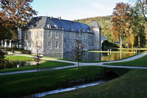 Annevoie Estate's Castle