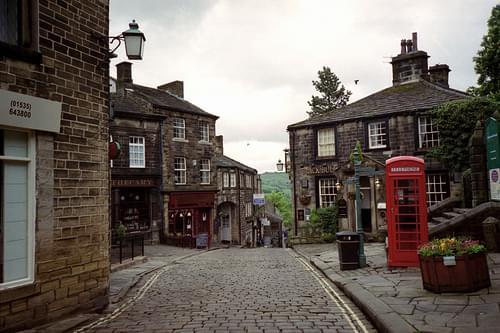 Haworth, May 2006