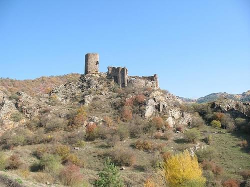 Wachttoren onderweg naar Borjomi