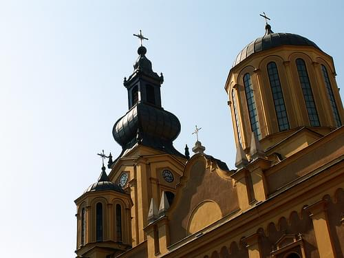 Sarajevo, Bosnia and Herzegovina - Orthodox Cathedral