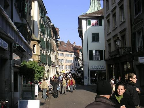 Historic Center, Solothurn