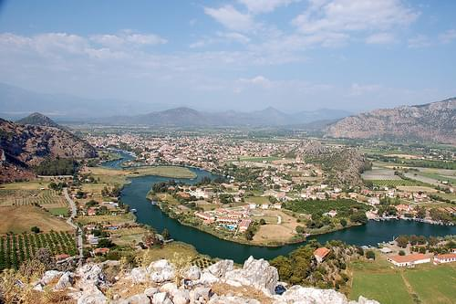 Dalyan from the Hills