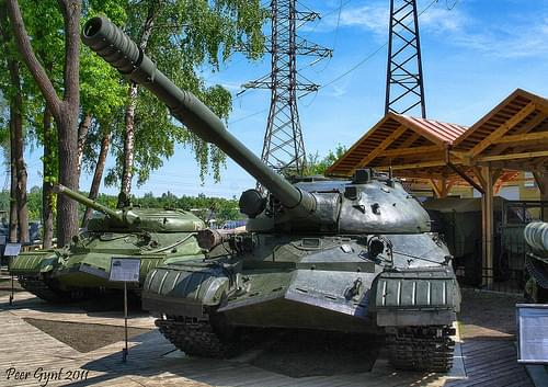 Soviet Heavy Tank T-10. 1953. Тяжелый советский танк Т-10.