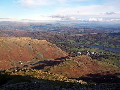 View from The Old Man of Coniston