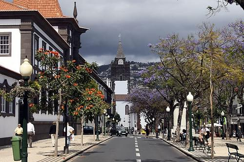 Centro de Funchal - Ilha da Madeira - Portugal