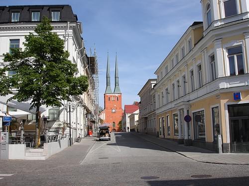 Växjö cathedral,Växjö,Sweden