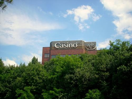 Casino in Portoroz, Slovenia