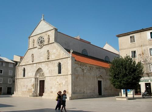 St Mary's Church in Pag (Croatia)